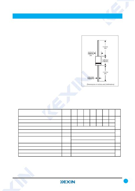 diodes and rectifiers pdf pdf 1n4005 datasheet 1n4005 rectifier diodes kexin