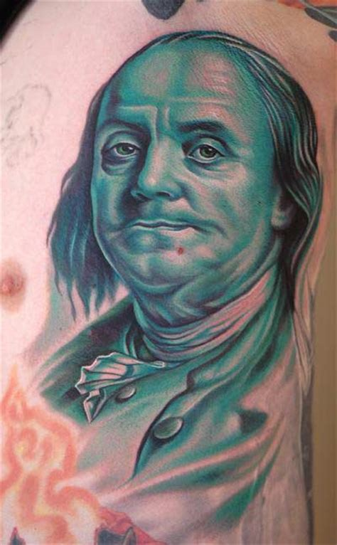 tattoo apple valley ca benjamin franklin portrait tattoo by nikko hurtado