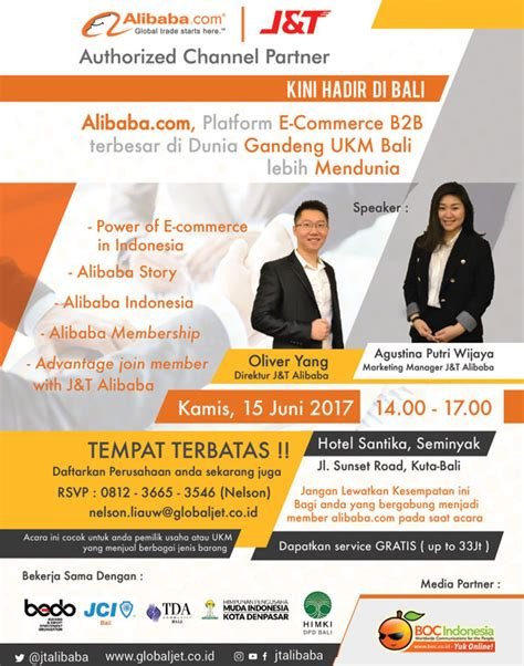 alibaba j t undangan mini workshop j t alibaba di bali indonesia web