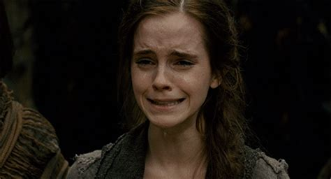 emma watson crying 28 of the best on screen cry faces