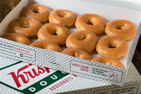 krispy kreme s krispy kreme is giving away free donuts tomorrow