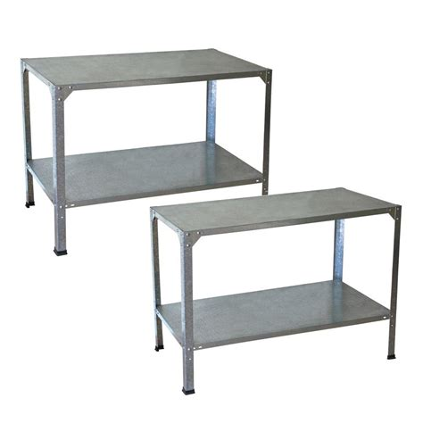 potting benches home depot palram greenhouse steel potting bench 2 bench bundle