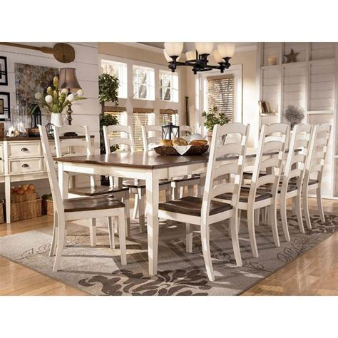 whitesburg formal dining room set   chair choices