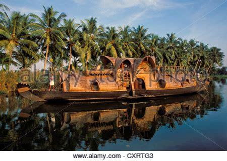 malabar house boats houseboat vembanad lake kerala malabar coast south india india stock photo