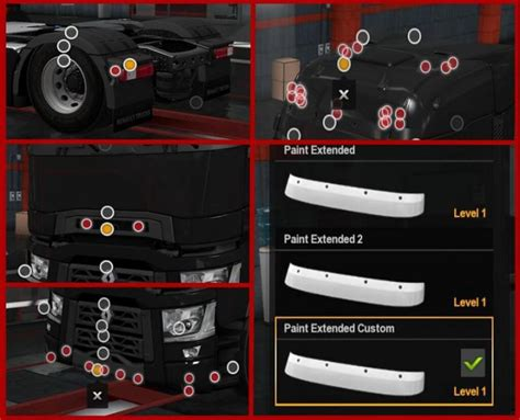 ets renault  light improvements lowered chassis   simulator games mods
