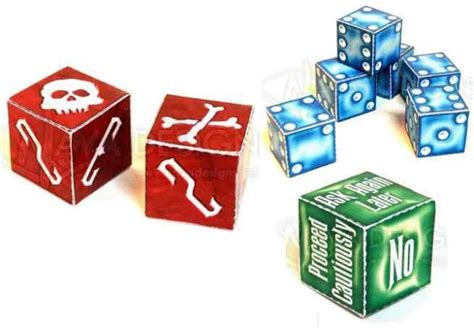 Papercraft Dice - papermau haunted house dice tower paper model by robert