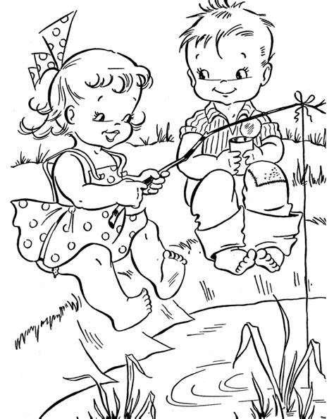 summer time coloring sheet coloring pages