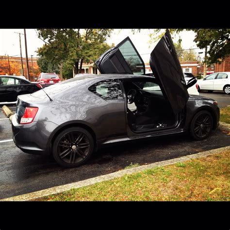 scion tc butterfly doors club scion tc forums 2011 scion tc lambo doors finished