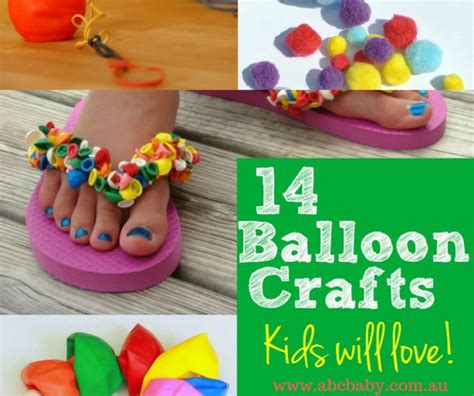 craft rubber sts australia 14 craft ideas you can make with balloons abc