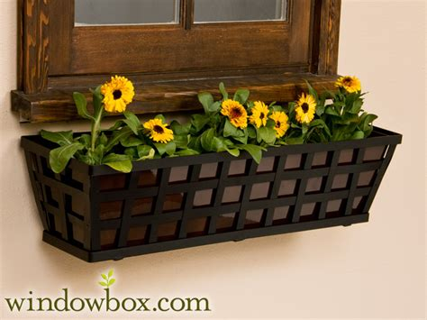 60 Planter Box by 60 Quot Santiago Tapered Iron Window Box 60 Quot Window Boxes