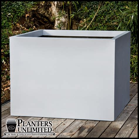 Commercial Fiberglass Planters by Square Fiberglass Planters Commercial Sized Planters