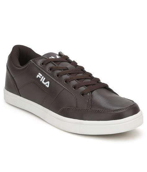 fila brown casual shoes price in india buy fila brown