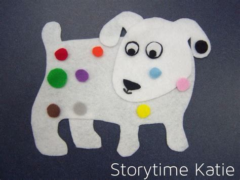 dogs colorful day flannel board s colorful day literacy lang arts