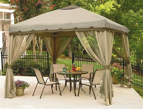 backyard canopy gazebo backyard gazebo ideas corner