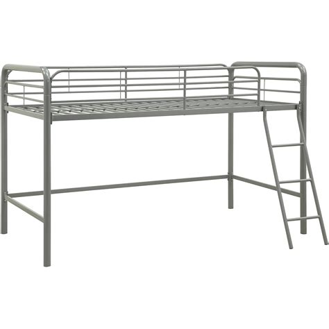 metal beds for junior metal loft bunk bed toddler childs