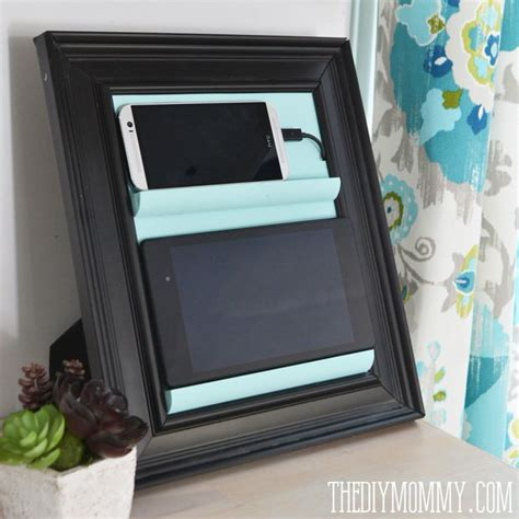 diy station do it yourself clever charging stations decorating your small space