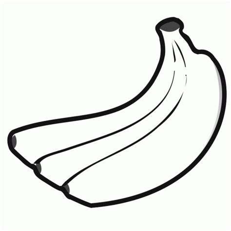 coloring page for banana bananas coloring pages learn to coloring