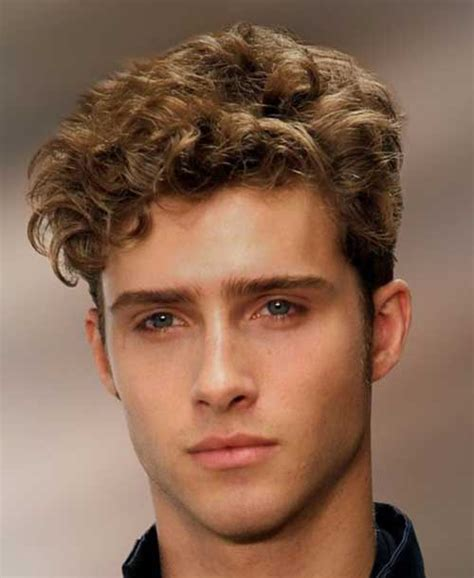 Cool Hairstyles For Guys With Wavy Hair by Guys Curly Hairstyles 2016 Curly Hair