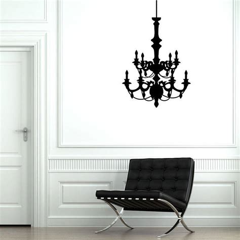 modern wall stickers contemporary chandelier wall stickers by parkins interiors