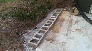 cinder block retaining wall design foundation