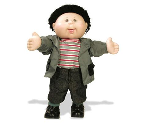 cabbage patch boy cabbage patch black haired boy in shirt and jacket