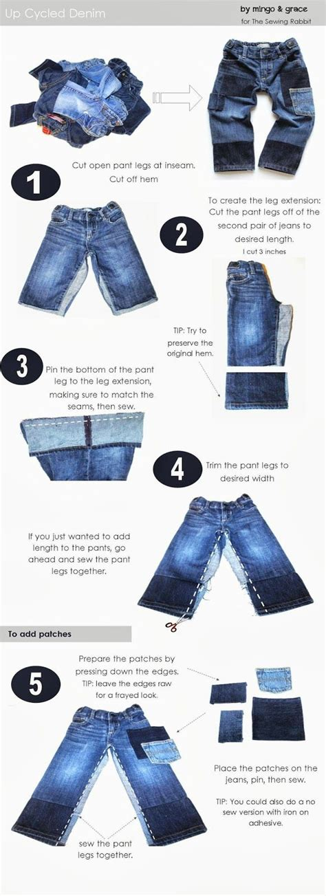 Kid Grace Denim upcycle denim diy extending the of your clothing grace o malley and