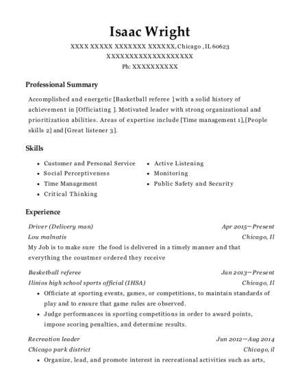 resume referee sle basketball referee resume exles gallery resume