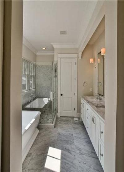 long skinny bathroom remodel master bathroom layout