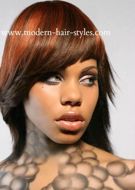 black women hairstyles streaks fall hair color trends 2014 african american driverlayer