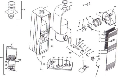 coleman evcon parts diagram coleman get free image about