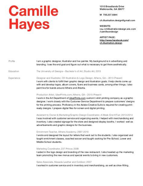 Hays Resume Advice Camille 2016 Resume