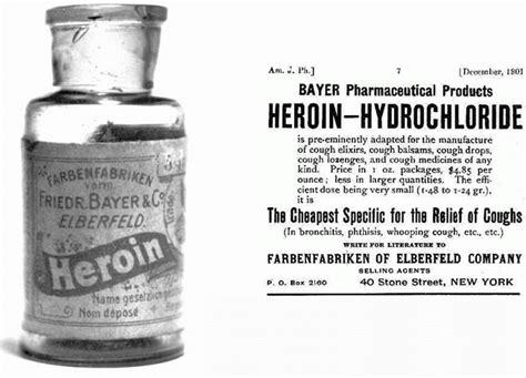 Opiate Detox Pro by Bayer Heroin Hydrochloride Advertisement 1901