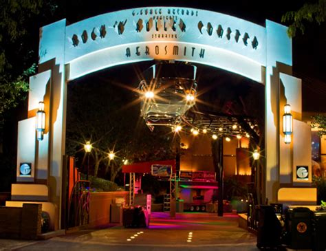 hollywood studios north little rock rock n roller coaster starring aerosmith disney s