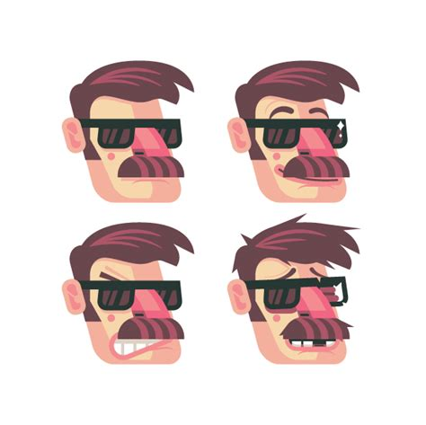 tutorial vector character how to design and vector a set of character poses for a