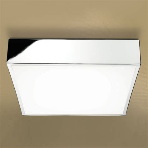 Square Bathroom Ceiling Light Hib Inertia Led Square Bathroom Ceiling Light 680 680