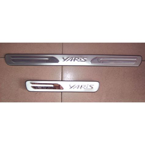 Sillplate Sing Stanless Yaris sgcarstyling singapore car accessories styling yaris vitz door sills scuff plate