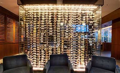 Glass Enclosed Wine Cellars   Glass Doors & Walls   IWA