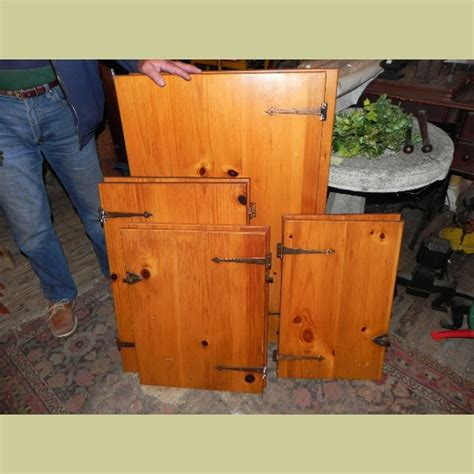 knotty pine kitchen cabinet doors vintage knotty pine kitchen cabinet doors with hardware in