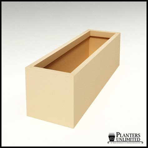 modern rectangle planter 60in l x 18in w x 18in h