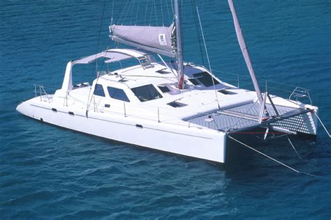 small boat voyages yacht charter voyage catamaran voyage 440 2006 10