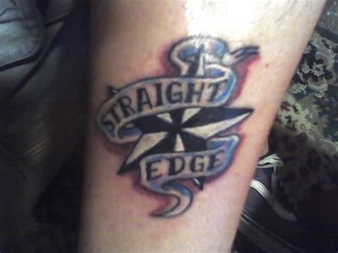 straight edge tattoos edge by xfalseidolfallx on deviantart