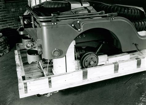 M38A1 Jeep in Crate