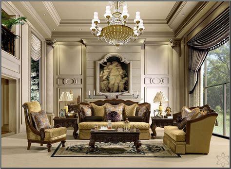 desain interior ruang keluarga klasik