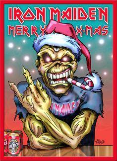 imagenes de navidad heavy metal m 225 s de 1000 im 225 genes sobre iron maiden artwork en