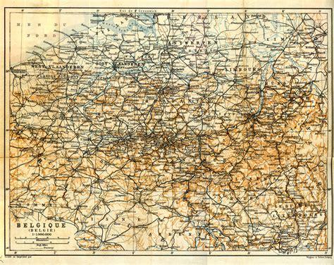 royalty free map free maps of belgium