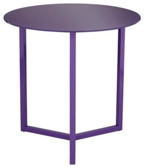 purple accent table brunetta purple accent table modern side tables and