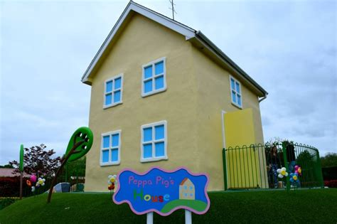 Peppa Pig The New House by Visiting Peppa Pig World With A Toddler Rock And Roll