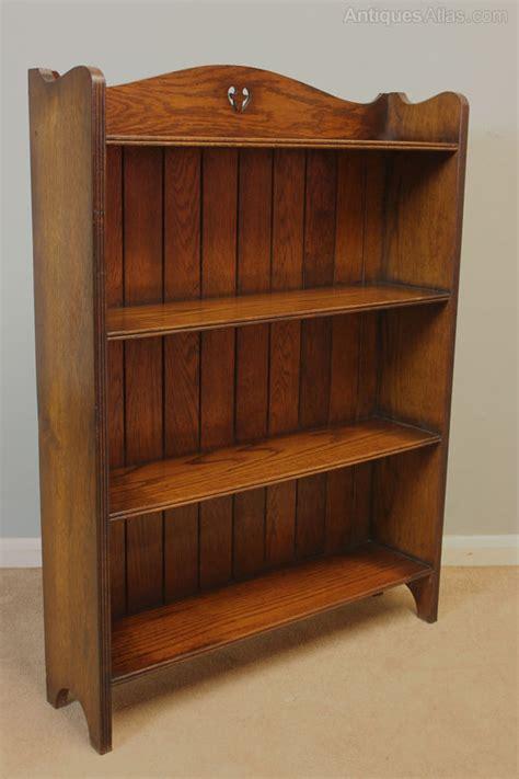 antique oak bookshelves antique oak open bookcase antiques atlas