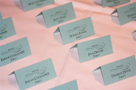 place cards themed place cards chic shab design studio inc