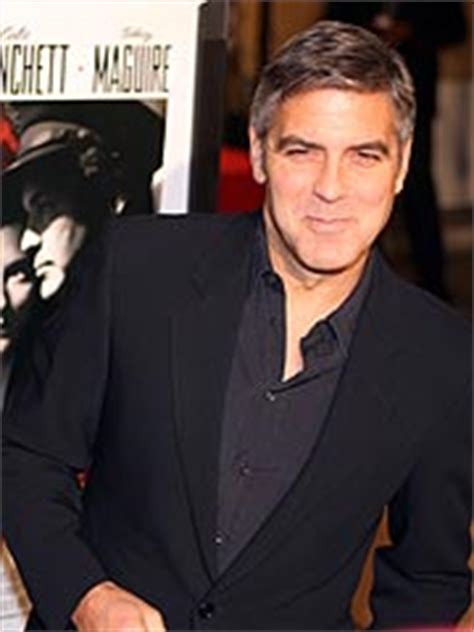 George Clooney Mourns His Dead Pig by George Mourns Max The Pig As He Attends L A Premiere